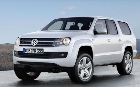 Из Volkswagen Amarok сделают 7-местный внедорожник