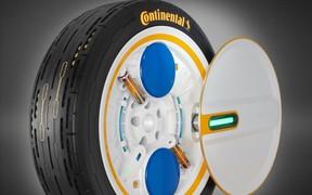 Качайся на ходу! Continental представила очередные «революционные» шины