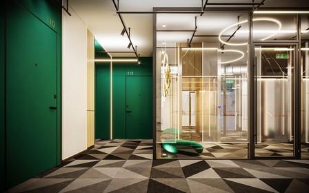 Как будут выглядеть представительские этажи в ЖК ARTHOUSE park от LEV Development