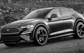 Как может выглядеть электрический внедорожник Ford Mustang?