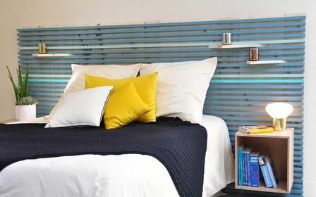 Як оформити узголів'я ліжка: 10 варіантів