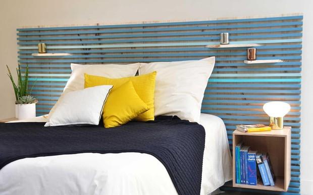 Как оформить изголовье кровати: 10 вариантов