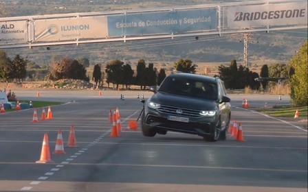 Как Volkswagen Tiguan прошел «лосиный» тест? ВИДЕО