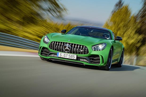 Халк крушить! Новый Mercedes-AMG GT R.