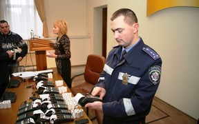 Харьковской ГАИ выдали 78 терминалов для оплаты штрафов