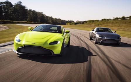 Хенде хох! Новый Aston Martin Vantage вооружен AMG