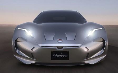 Хенрик Фискер показал, как будет выглядеть его новый электромобиль