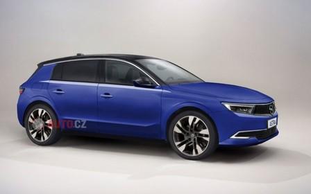 Хетчбек Opel Astra будет не таким ярким, как новый 308