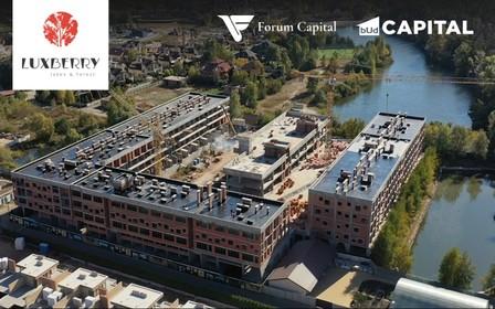 Ход строительства Luxberry Lakes & Forest в октябре 2021