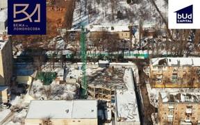 Ход строительства ЖК «Башня на Ломоносова» в феврале 2021