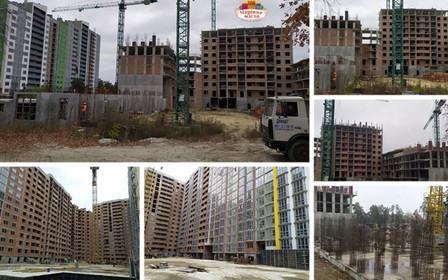 Ход строительства ЖК «Чарівне місто»