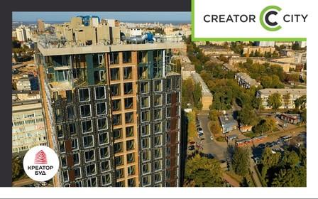 Ход строительства ЖК Creator City в октябре 2021