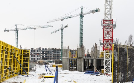Хід будівництва ЖК Star City від компанії BudCapital у січні