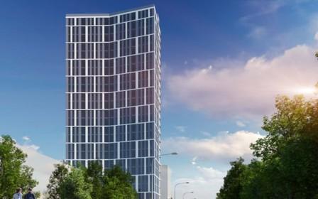 Ход строительства ЖК «Вежа на Ломоносова» в ноябре 2020