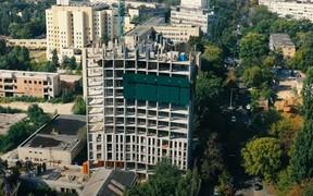 Ход строительства ЖК «Вежа на Ломоносова» в сентябре 2021