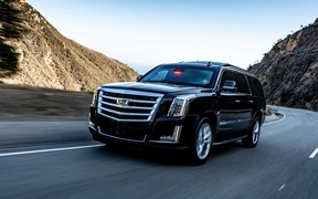 Хоть камни с неба. Новый защищенный внедорожник Cadillac Escalade
