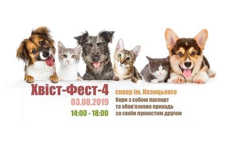 «ХВIСТ - ФЕСТ - 4» виставка-ярмарка безпритульних тварин у Вінниці