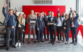 Kia Motors Corporation отметила лучших украинских дилеров по результатам деятельности в 2018 году!