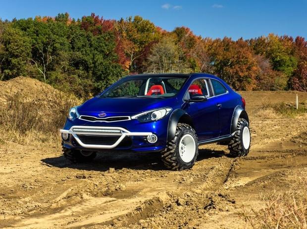 KIA привезет на тюнинг-шоу SEMA внедорожную версию купе Cerato