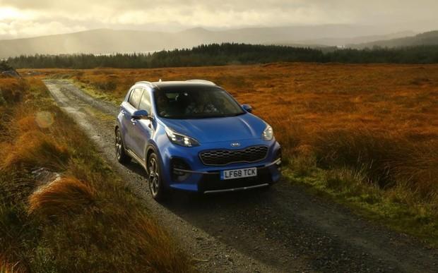 Kia Sportage став найбільш продаваним автомобілем в Україні у першому півріччі