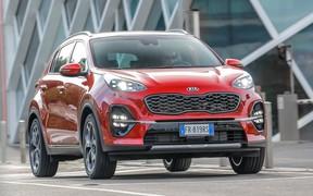 «Kia Sportage знову став найпопулярнішим автомобілем в Україні»