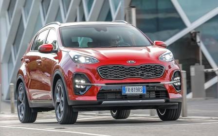 Kia Sportage знову став найпопулярнішим автомобілем в Україні