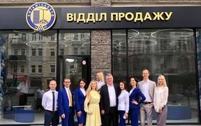 Киевгорстрой открыл новый отдел продаж