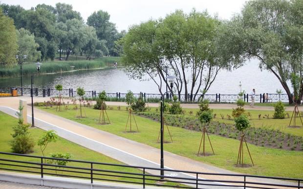 Київський парк отримав нагороду за найкращий ландшафтний дизайн