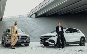 Кино и немцы. Электрические кроссоверы Mercedes готовятся к тест-драйву AUTO.RIA