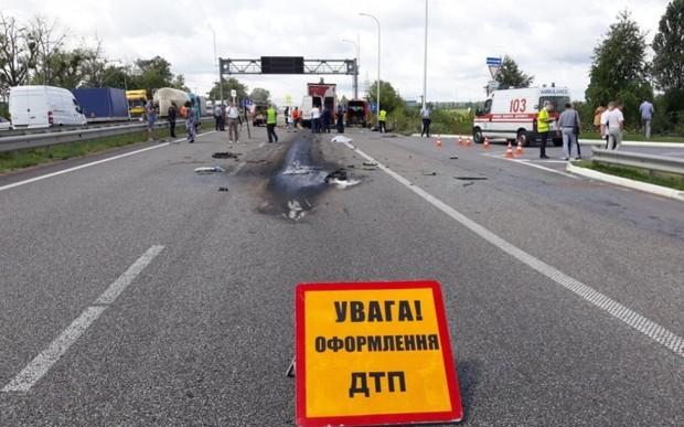 Количество ДТП уменьшилось лишь в одной области Украины