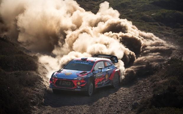 Команда Hyundai Motorsport вновь одержала победу на ралли Италии