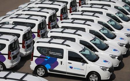 Комерційні автомобілі Renault для АТ «Укртелеком»