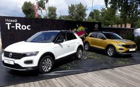 Компактний кросовер VW T-Roc офіційно презентований в Україні