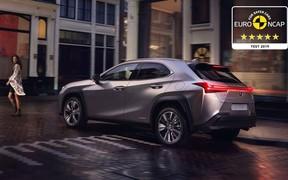 Компактний та наднадійний: Lexus UX отримав найвищу оцінку з безпеки