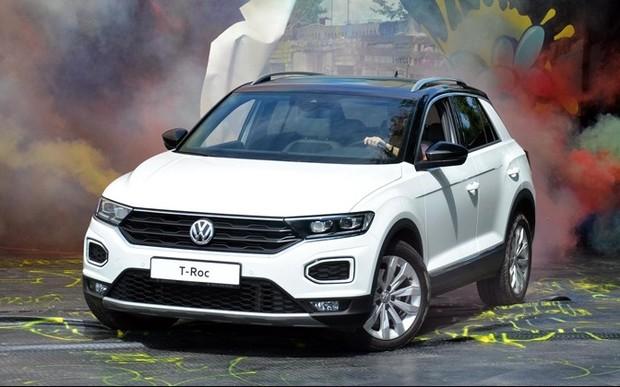 Компанія Volkswagen офіційно презентувала в Україні кросовер T-Roc