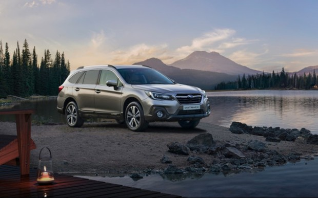 Комплект зимних шин в подарок к новому Subaru