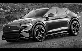 Конь в пальто. Как может выглядеть новый электрокроссовер Ford Mustang?