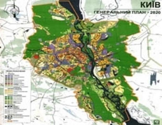 Концепция Генплана Киева вряд ли будет представлена в этом году