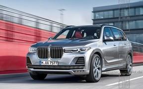 Концепт BMW X7 покажут этой осенью