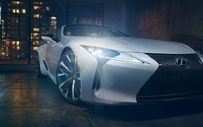 Концепт дизайну Lexus LC convertible