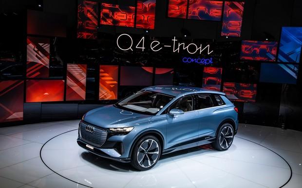 Концепт–кар Audi Q4 e–tron: поповнення в рядах електромобілів