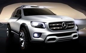 Концепт-кар Mercedes-Benz GLB
