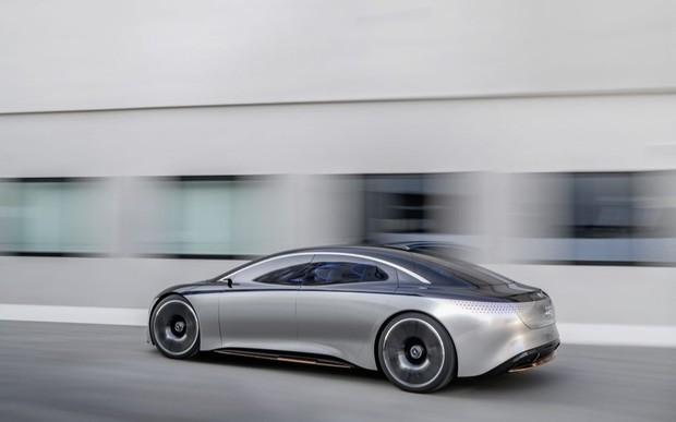 Концепт-кар Mercedes-Benz Vision  EQS