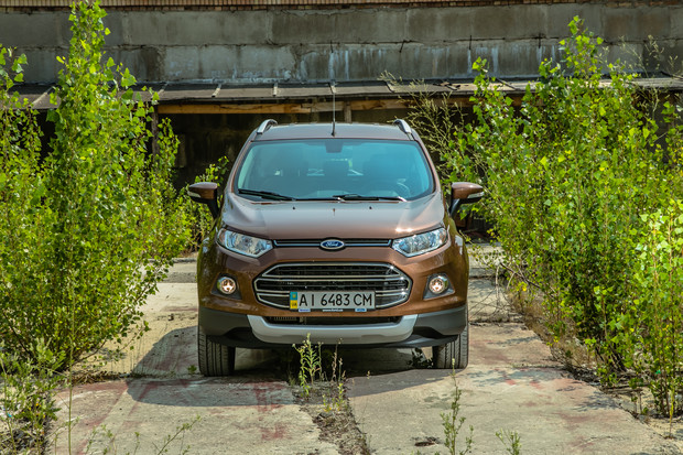 Король Лiтр: тест-драйв Ford Ecosport
