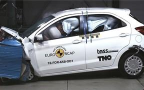 Краш-тесты EuroNCAP: Новые Ford Ka+ и Fiat 500 провалили испытания