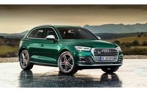 Кросовер Audi SQ5 TDI здивував дизельним двигуном