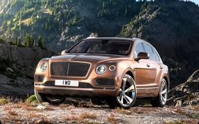 Кроссовер Bentley Bentayga получит дизельный мотор