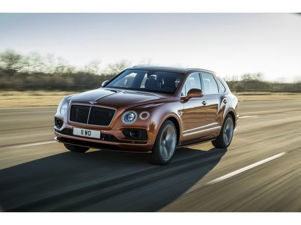 « Кроссовер Bentley Bentayga Speed объявлен быстрейшим в мире.»