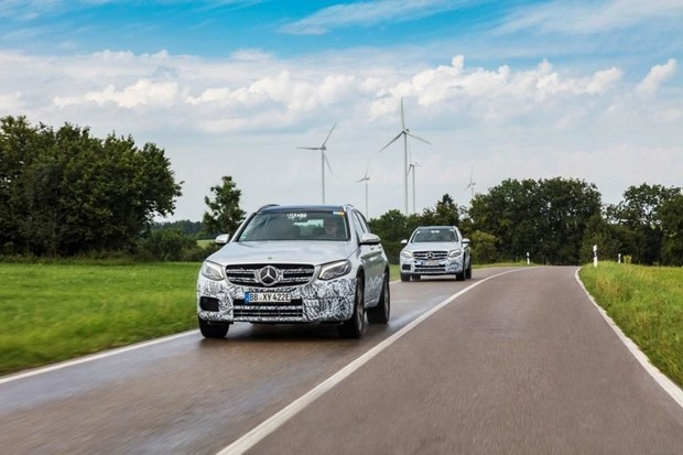 Кроссовер Mercedes-Benz GLC F-Cell