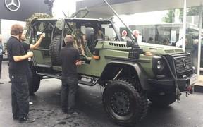 Круче не бывает: Mercedes-Benz показал военный Gelandewagen